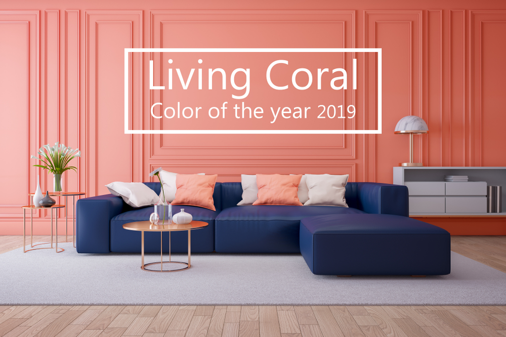 Living Coral –The New Favourite Colour of Interior Designers