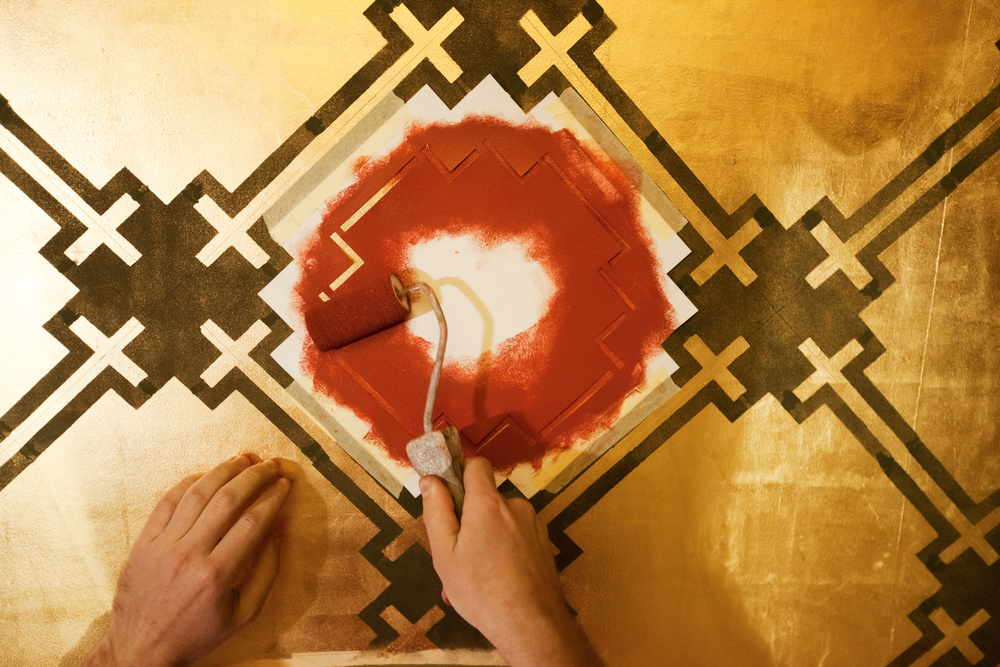 Top Tips for Wall Stencilling